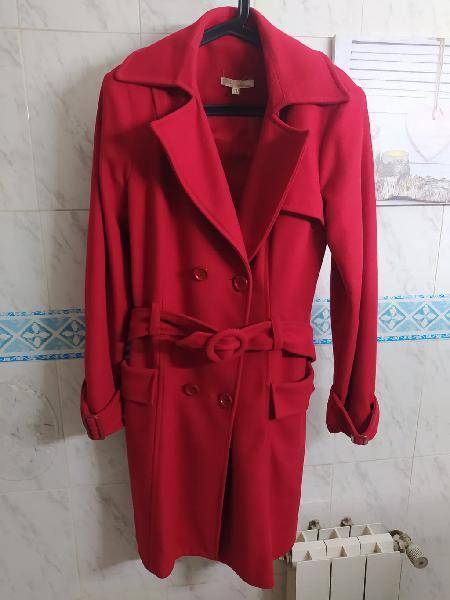 Abrigo paño marca blanco talla 40