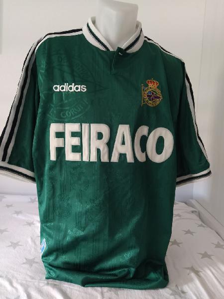 Camiseta fútbol deportivo coruña 1997-1998