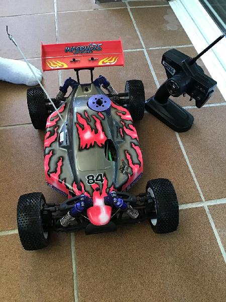 Coche rc kyosho infierno