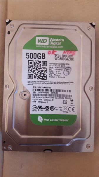 Disco duro 3.5 western digital 500gb sata