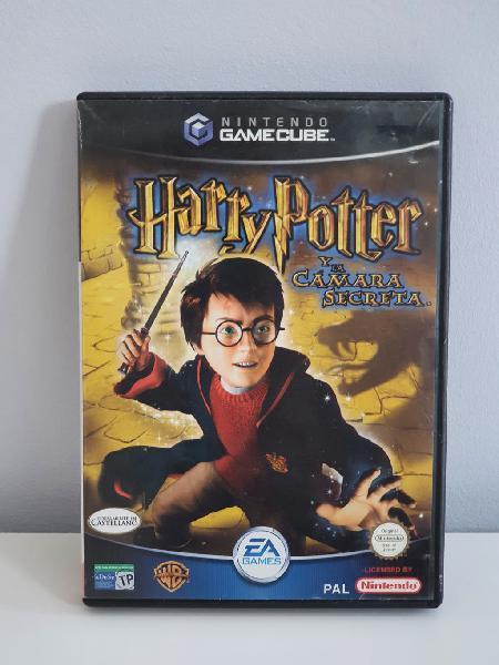 Harry potter y la cámara secreta game cube