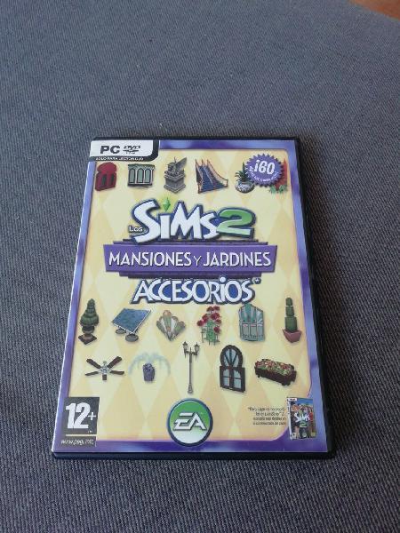 Juego pc los sims 2 mansiones y jardines