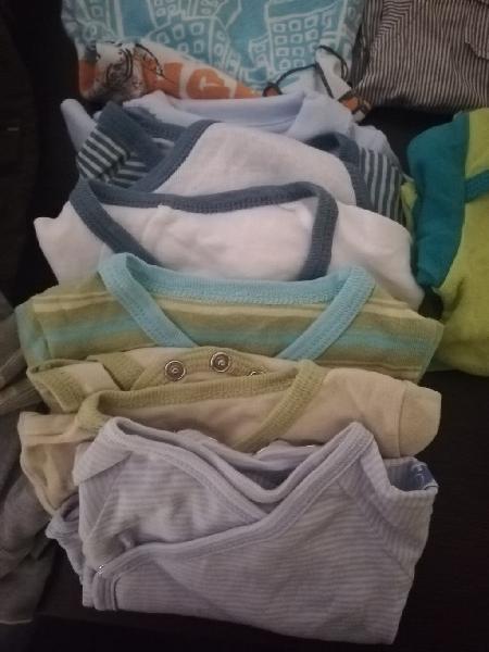 Lote 3 ropa invierno niño 2 a 6 meses
