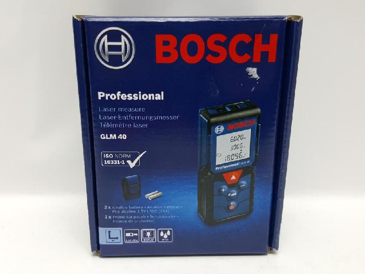 Medidor laser bosch professional glm 40 n 100467