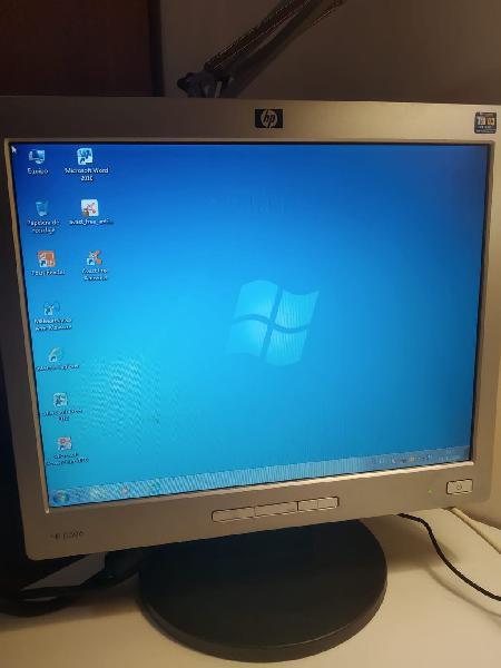 Monitor hp l1506 +teclado hp