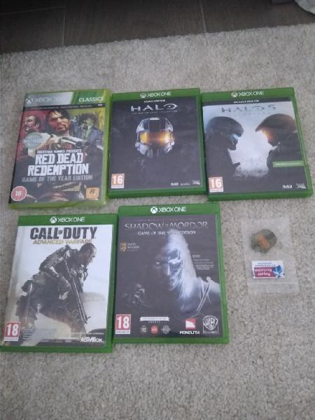 Pack juegos xbox one (envio incluido)