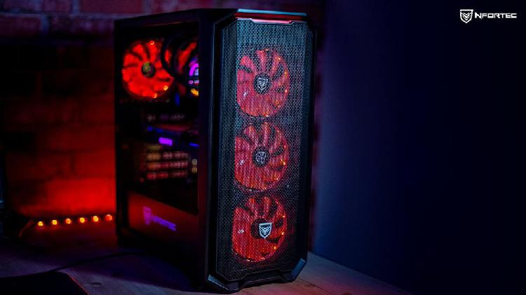 Pc gamer ryzen 5 2600 //rx 5500 xt 8gb //16gb ddr4