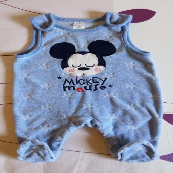 Peto pijama bebé mickey mouse talla 1-3 meses