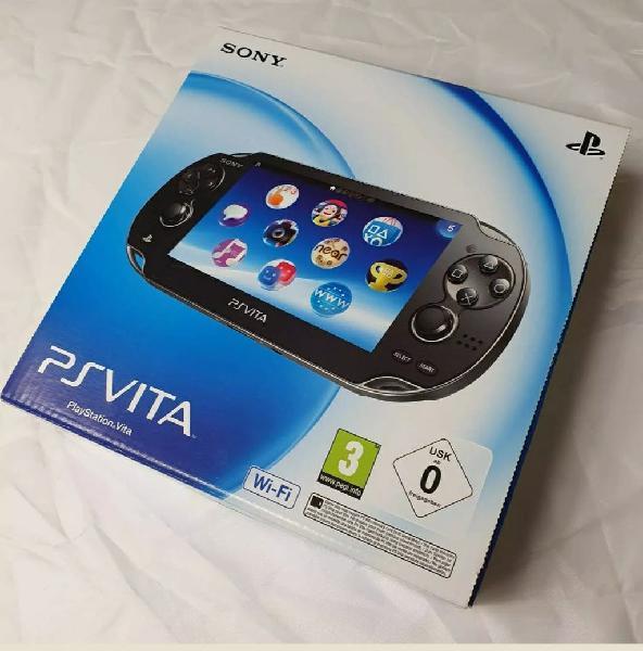 Playstation vita nueva.