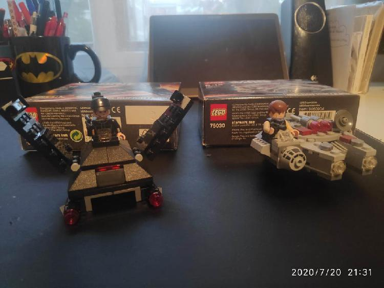 Star wars lego microfighters 75030 y 75163