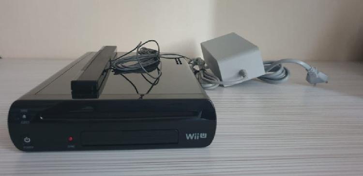Wii u + mandos + cables + juegos
