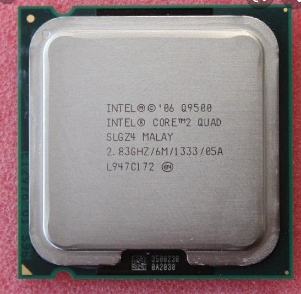 Core 2 quad q9500 4 núcleos 775
