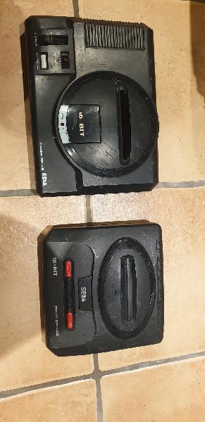 Mega drive mk1 + mega drive 2