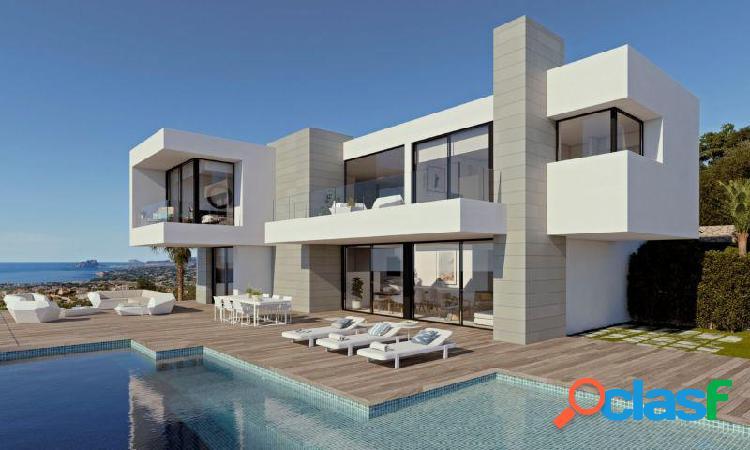 Villa vista al mar con piscina privada en Cumbres del Sol Benitachell 2