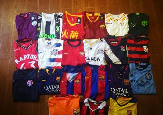21 lote pack camisetas de fútbol