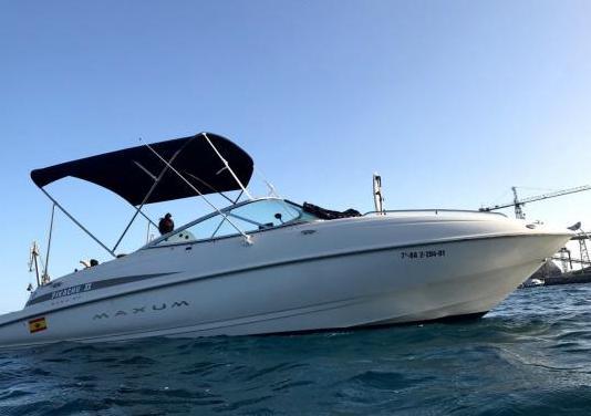 Barco maxum 2100 sc - fallo de motor