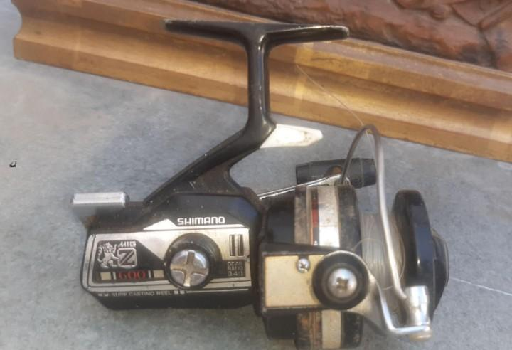 Carrete antiguo de pesca shimano mig z 600