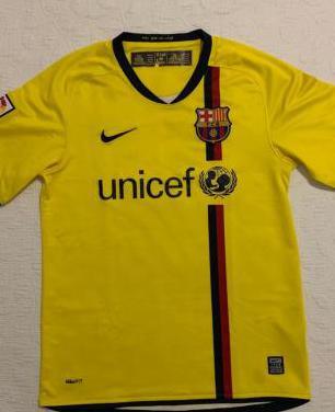 Camiseta fc barcelona 2009 coleccionista.