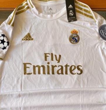 Camiseta real madrid hazard