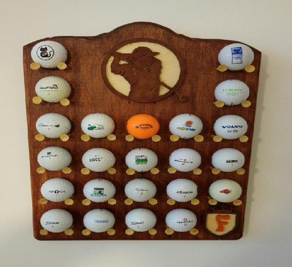 Golf. expositor bolas golf