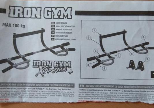 Iron gym barra de ejercicios nueva
