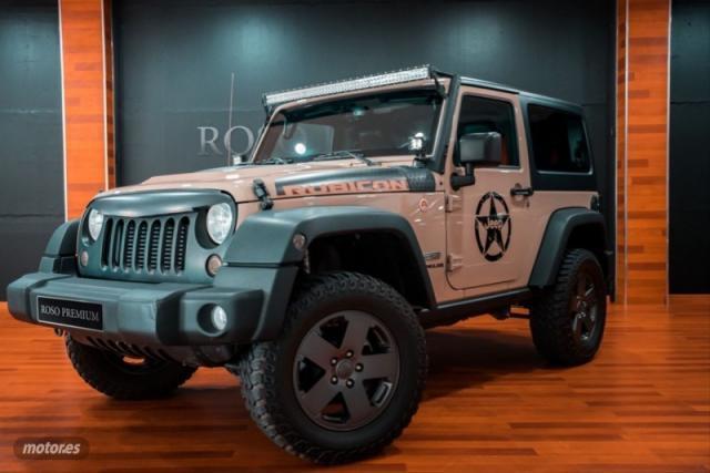 Jeep wrangler 2.2 crd rubicon 8atx e6d de 2018 con 14.000 km