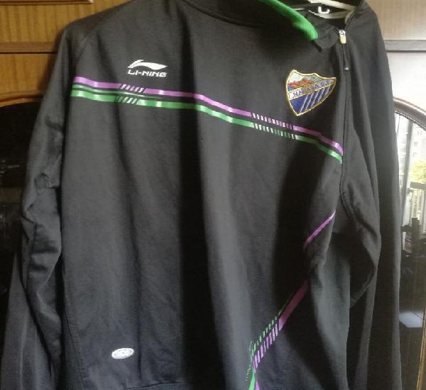 Malaga cf jacket chaqueta futbol football(1 hole) 2xl
