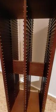 Mueble madera cds
