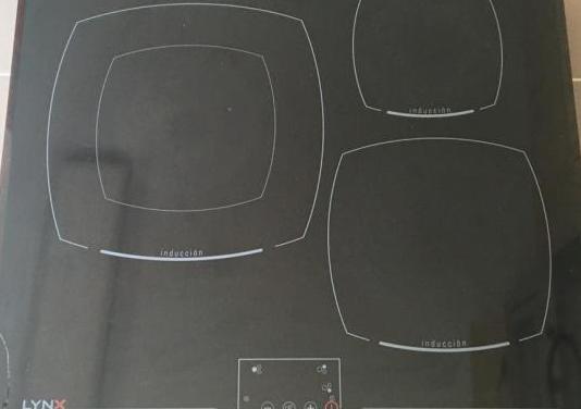 Placa inducción lynx (tiene cristal roto)