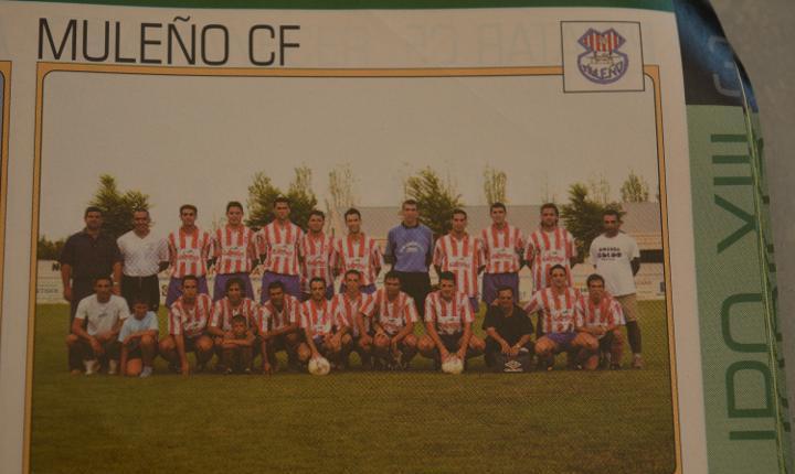 Recorte de don balon.inicio temporada 2003-04.relación de