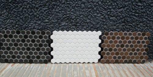 Revestimiento gres mosaico serie hexa 20x30 comercial