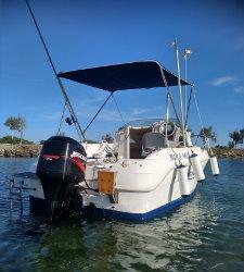 Se vende barco quicksilver 500 cabina+remolque homologado