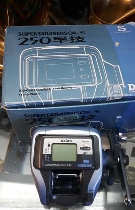 Carrete pesca daiwa supertanatasensor s - 250. (ss - s250).