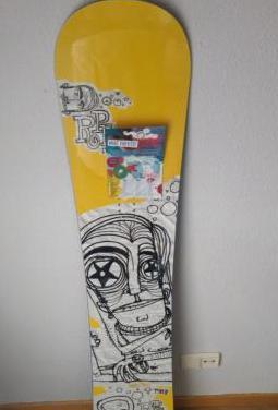Tabla de snowboard marca rope 21