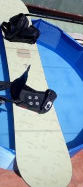 Tabla snowboard forum 158cm con fijaciones nitro