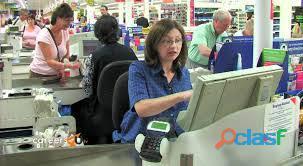 Se buscan cajeras o reponedoras en supermercado