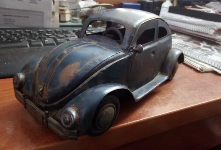 1º prototipo maqueta volkswagen beetle..1934 de ferdinand