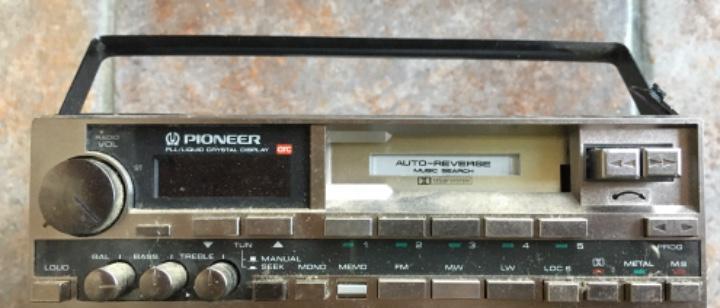 Auto radio pioneer modelo ke-8300