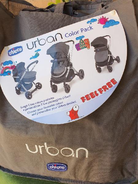Carro bebe trio chicco urban