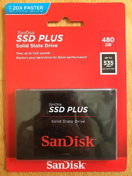 Disco duro sandisk ssd interno de 480 gb