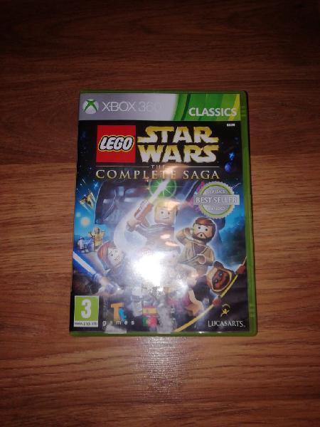 Lego star wars the complete saga para xbox 360