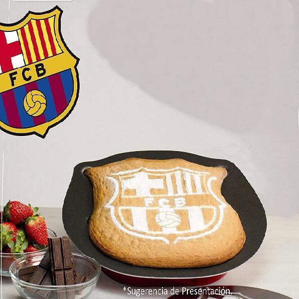 Molde horno forma fc barcelona (producto nuevo) r