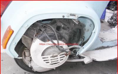 Motor de vespa pk 75 xl