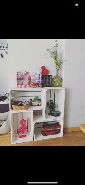 Mueble auxiliar estilo industrial vintage