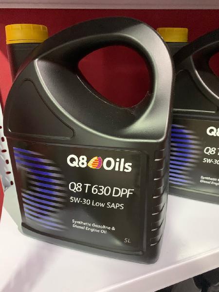 Nuevo aceite q8 oils sintético 5w -30