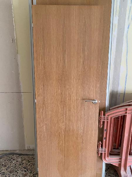Puertas chapadas roble