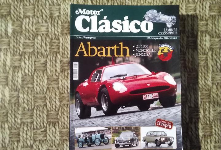 Revista motor clásico - nº 248 - octubre 2008 - abarth ot