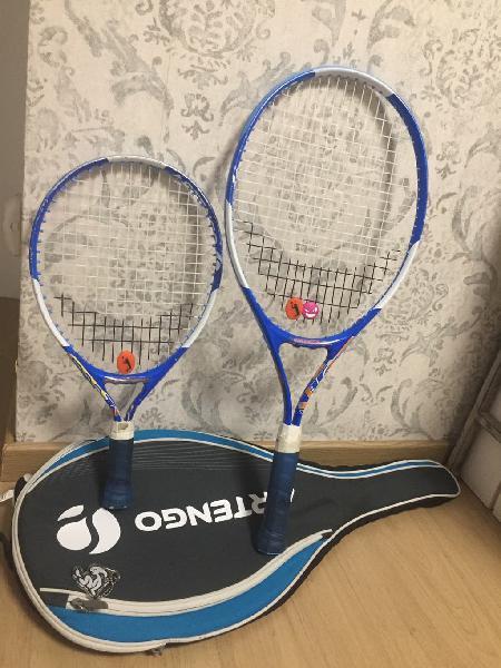 Raquetas tenis infantiles y funda