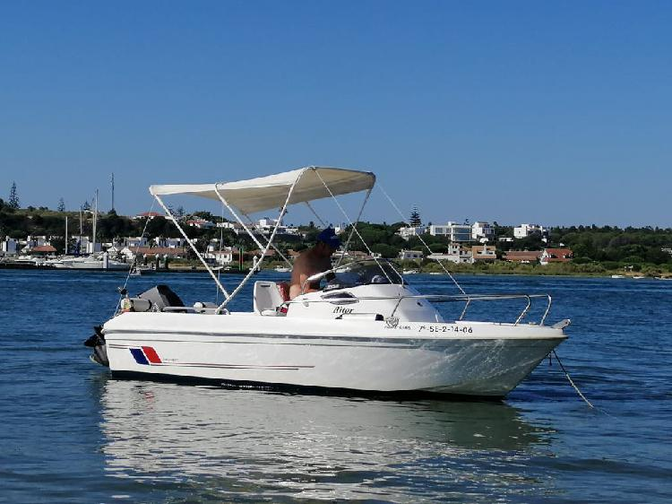 Se vende barco, motor y rémolque