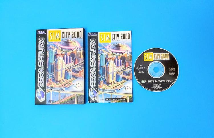 Sim city 2000 / saturn